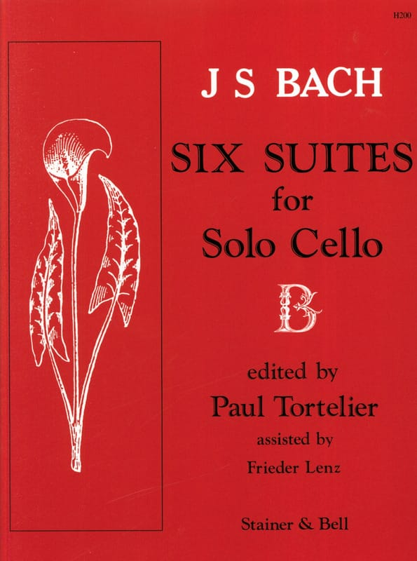 BACH - 6 Cello Suites Only Tortelier - Partition - di-arezzo.es