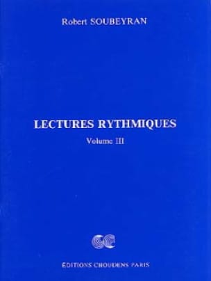 Robert Soubeyran - Rhythmic Readings Volume 3 - Partition - di-arezzo.co.uk