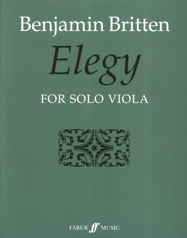 Benjamin Britten - elegía - Partition - di-arezzo.es