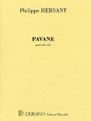 Pavane - Philippe Hersant - Partition - Alto - laflutedepan.com