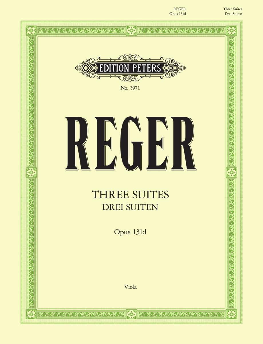 Max Reger - 3 suites op. 131d - Partition - di-arezzo.es