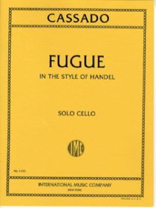 Gaspar Cassado - Fuge im Händel-Stil - Partition - di-arezzo.de