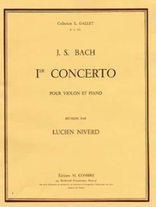 Concerto Violon n° 1 la mineur BWV 1041 - BACH - laflutedepan.com