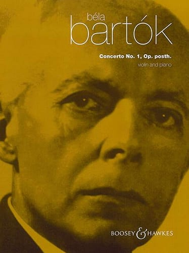 BARTOK - Violin Concerto No. 1 - Violin and Piano - Partition - di-arezzo.co.uk