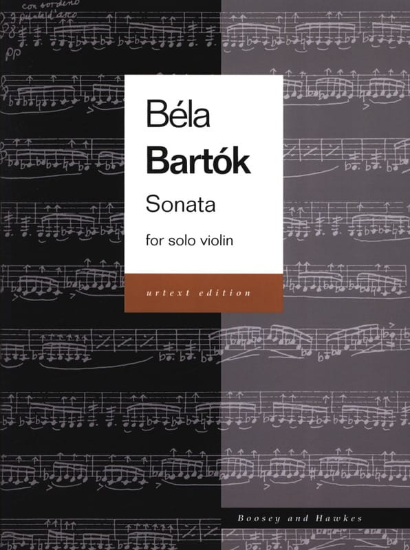 Sonata for Solo Violin Urtext - BARTOK - Partition - laflutedepan.com