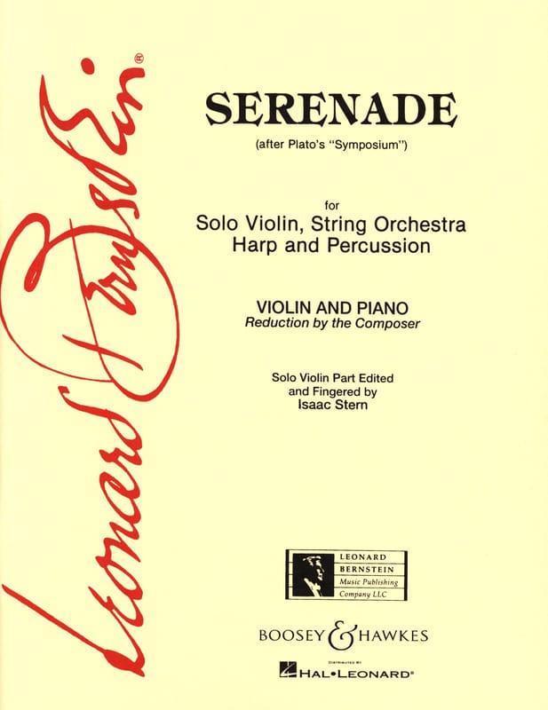 Leonard Bernstein - Serenade - Partition - di-arezzo.fr