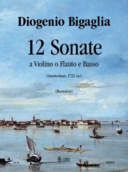 12 Sonate a violino o flauto e basso - laflutedepan.com