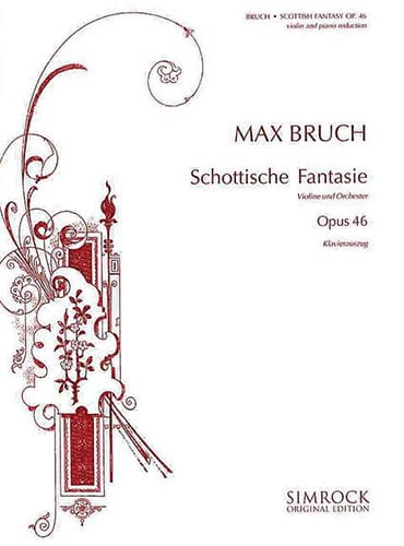 Max Bruch - Scottish Fantasy op. 46 - Partition - di-arezzo.co.uk