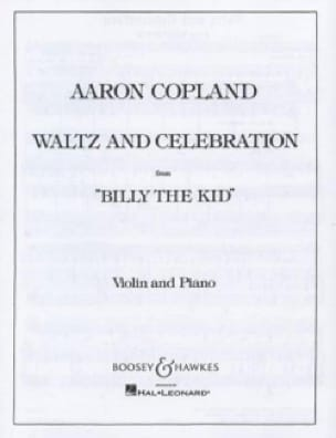 Waltz and Celebration from Billy the Kid - Violin - laflutedepan.com