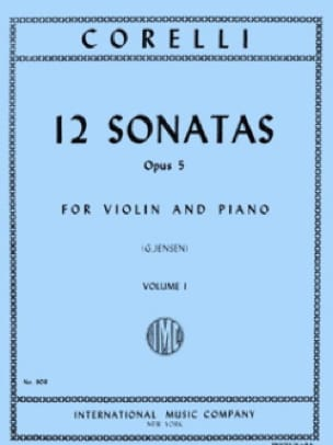 12 Sonates op. 5, Volume 1 1 à 6 - CORELLI - laflutedepan.com