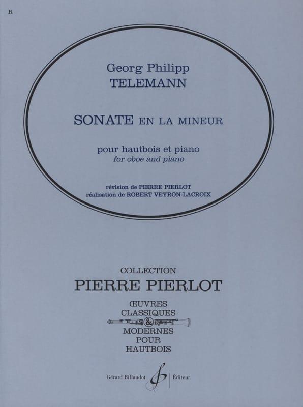 Sonate en la mineur -Hautbois - TELEMANN - laflutedepan.com