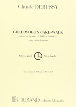 Golliwogg's Cake-Walk - DEBUSSY - Partition - laflutedepan.com