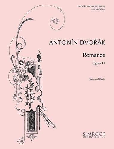 DVORAK - Romance op. 11 - Partition - di-arezzo.fr