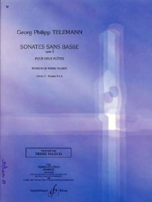 TELEMANN - Sonatas Without Bass Opus 2 Volume 2 - Partition - di-arezzo.com