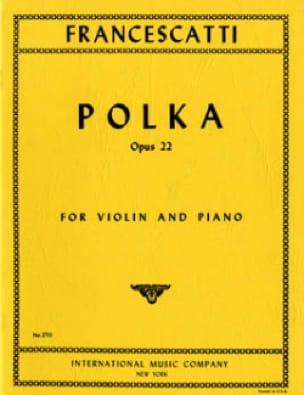 Polka op. 22 - Zino Francescatti - Partition - laflutedepan.com