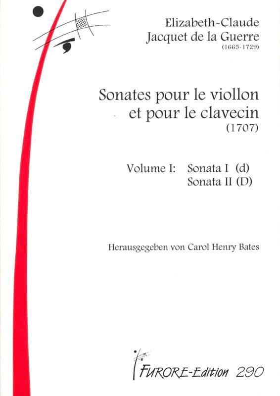 Sonates Pour Violon et Clavecin Volume 1 1707 - laflutedepan.com