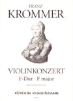 Violinkonzert F-Dur - Violine Klavier - KROMMER - laflutedepan.com