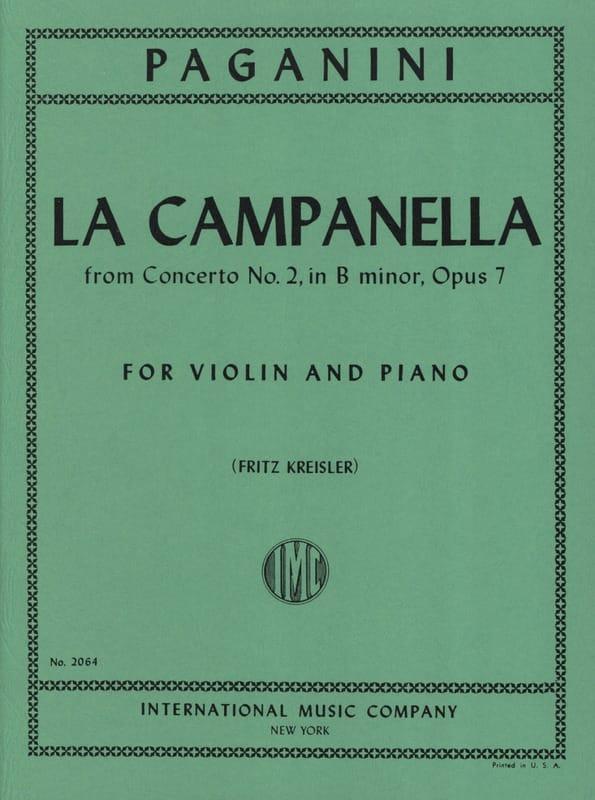 Niccolò Paganini - The Campanella Kreisler - Partition - di-arezzo.co.uk
