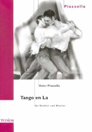 Astor Piazzolla - Tango in The - Partition - di-arezzo.com
