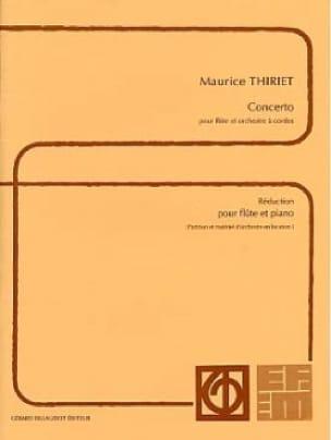 Concerto - Flûte piano - Maurice Thiriet - laflutedepan.com