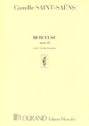 Berceuse op. 38 - SAINT-SAËNS - Partition - Violon - laflutedepan.com
