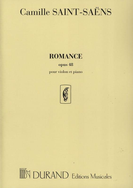 Camille Saint-Saëns - Romance op. 48 - Partition - di-arezzo.com