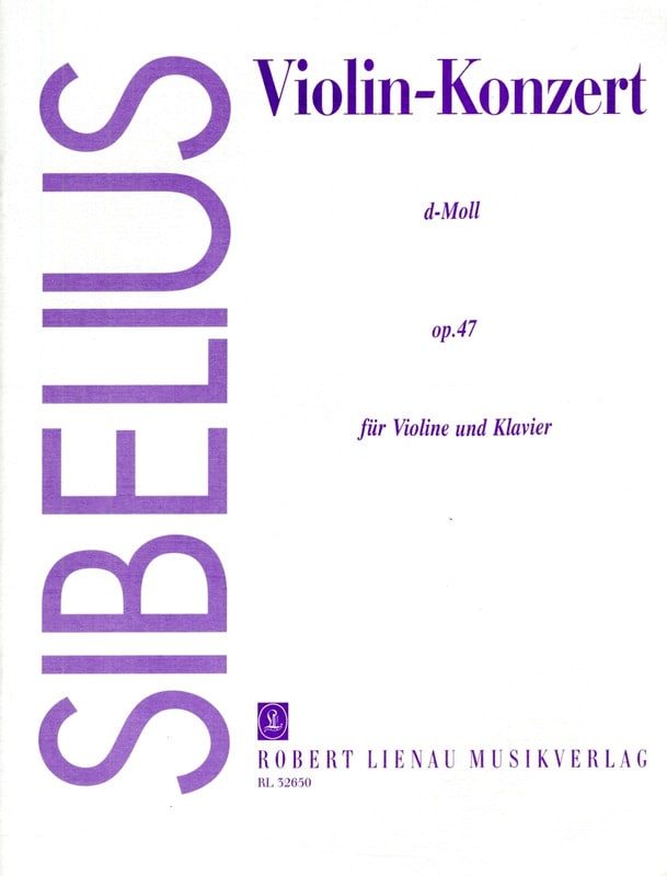 Jean Sibelius - Violin Concerto in D Minor Op.47 - Partition - di-arezzo.co.uk
