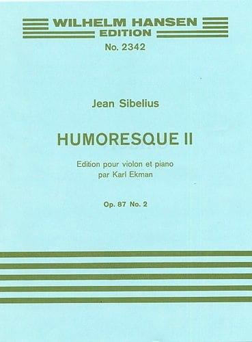 Jean Sibelius - Humoresque 2, op. 87 n ° 2 - Partition - di-arezzo.es