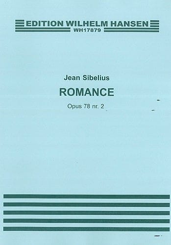 Jean Sibelius - Romance op. 78 n ° 2 - Partition - di-arezzo.co.uk