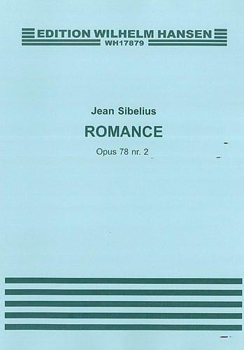 Jean Sibelius - Romance op. 78 n ° 2 - Partition - di-arezzo.es