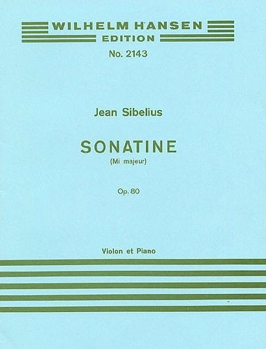 Jean Sibelius - Sonatine in E major op. 80 - Partition - di-arezzo.co.uk