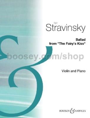 Ballad - STRAVINSKY - Partition - Violon - laflutedepan.com