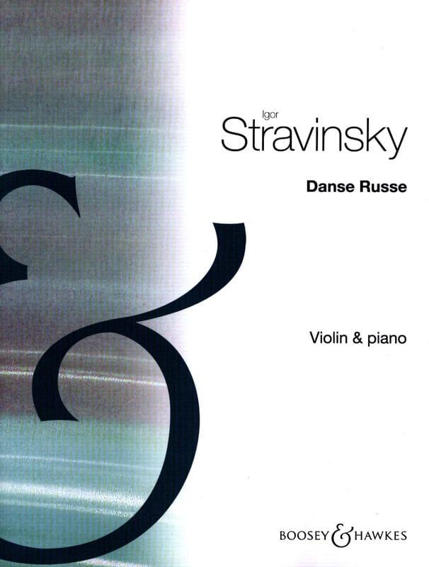 Danse russe - STRAVINSKY - Partition - Violon - laflutedepan.com