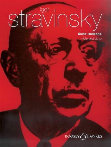 Suite Italienne - Igor Stravinsky - Partition - laflutedepan.com