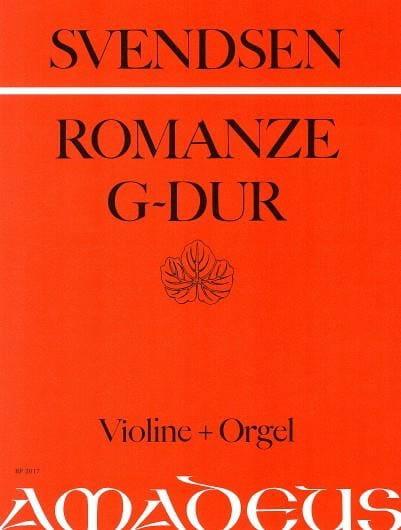 Johan Severin Svendsen - Romanze op. 26 in G-Dur - Partition - di-arezzo.co.uk