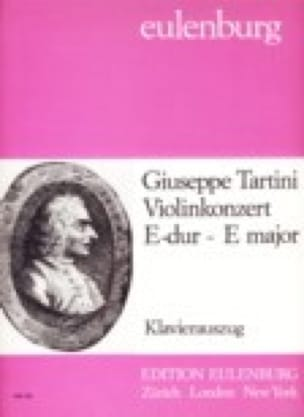 Violinkonzert E-dur - TARTINI - Partition - Violon - laflutedepan.com