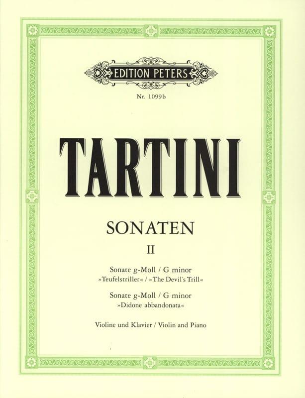 Sonates Volume 2 - TARTINI - Partition - Violon - laflutedepan.com