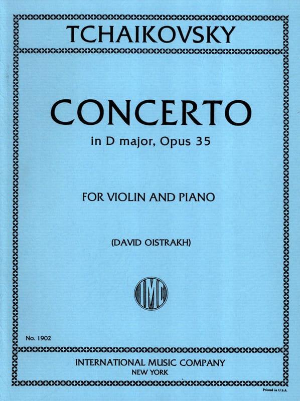 TCHAIKOVSKY - Violin Concerto D major op. 35 Oistrakh - Partition - di-arezzo.co.uk