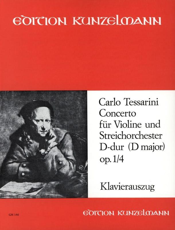 Concerto D-dur op. 1 n° 4 - Carlo Tessarini - laflutedepan.com