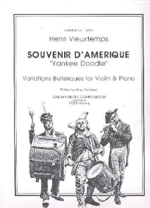 Henri Vieuxtemps - Souvenir of America - Partition - di-arezzo.com