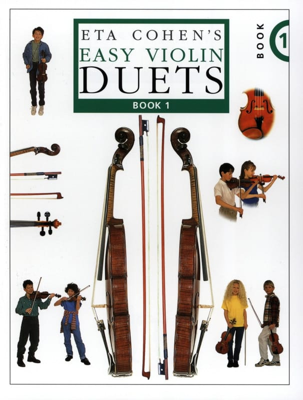 Easy violin duets Volume 1 - laflutedepan.com