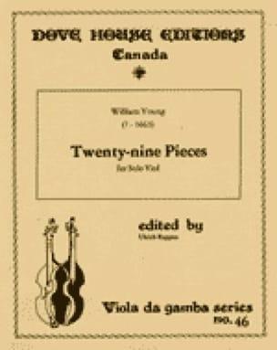 Twenty-nine pieces - solo viole - William Young - laflutedepan.com