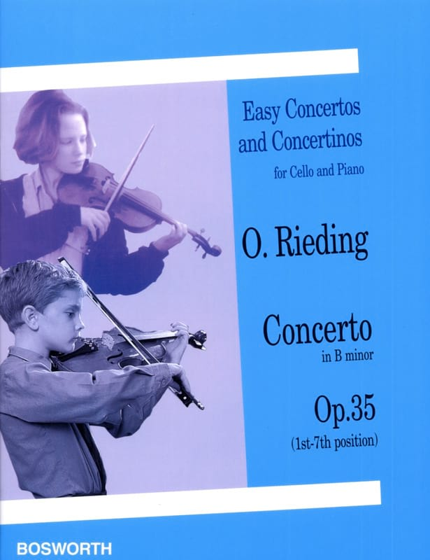 Oscar Rieding - Concerto so minor op. 35 - Cello - Partition - di-arezzo.co.uk