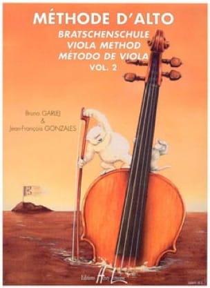 GARLEJ - GONZALES - Alto Method - Volume 2 - Partition - di-arezzo.co.uk