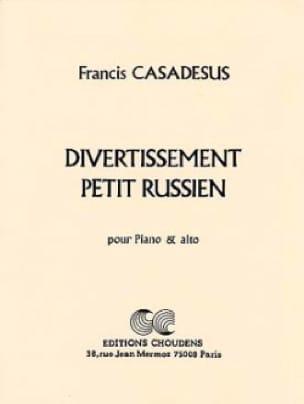 Divertissement Petit Russien - Francis Casadesus - laflutedepan.com
