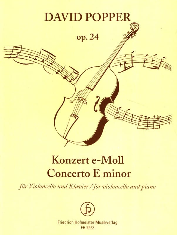 David Popper - Konzert e-moll op. 24 - Partition - di-arezzo.co.uk