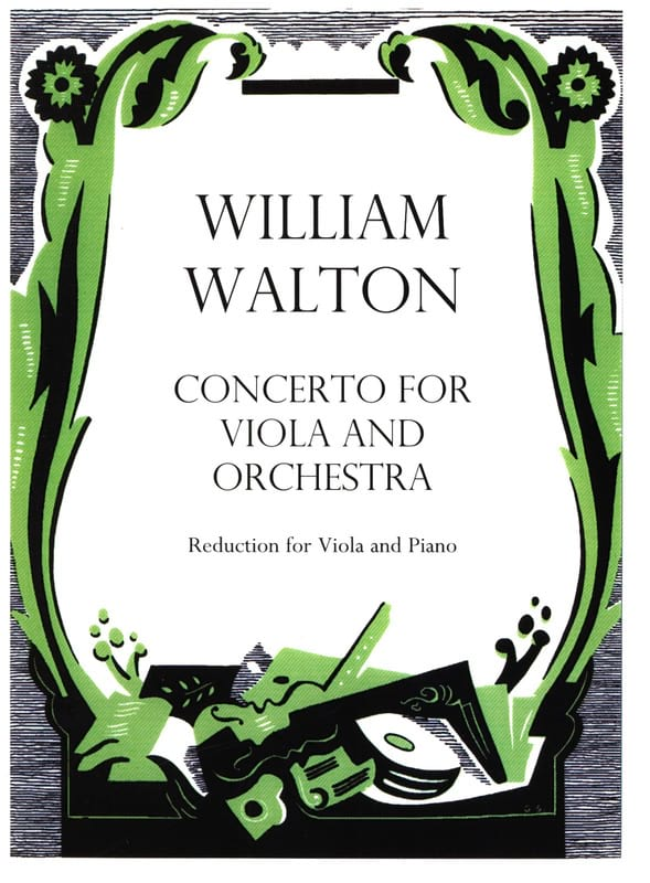 William Walton - Concerto for viola and orchestra - Partition - di-arezzo.fr
