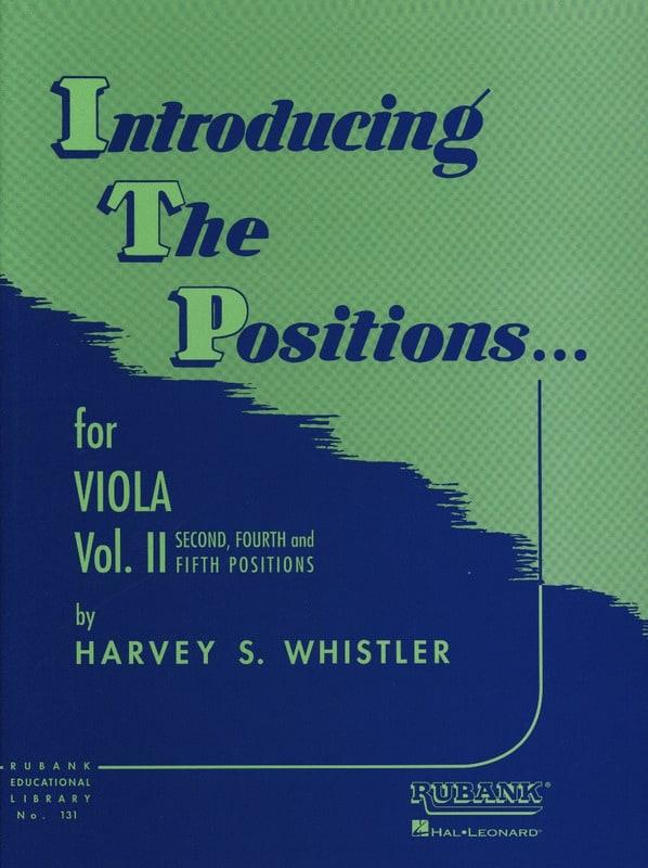Introducing The Positions - Viola - Vol.2 - laflutedepan.com