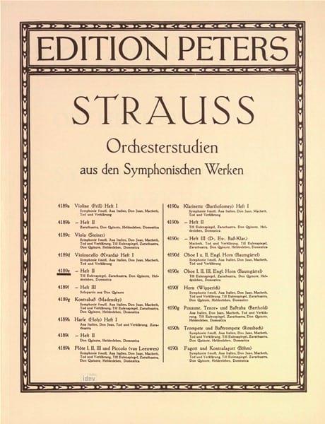 Orchesterstudien Violoncello, Heft 2 - laflutedepan.com