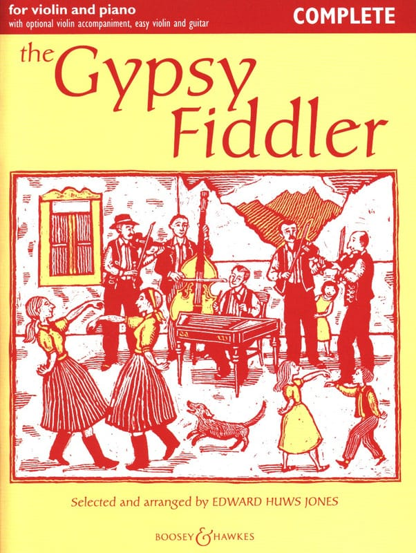 Jones Edward Huws - The Gypsy Fiddler - Partition - di-arezzo.com